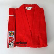Куртка для самбо Green Hill Junior 400 гм2 (SSJ-10369, красная)