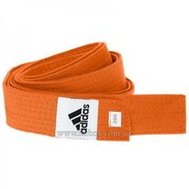 Пояс для кимоно Adidas Club (adiB220, оранжевый)