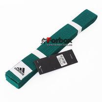 Пояс для кимоно Adidas Club (adiB220, зеленый)