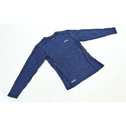 Компрессионная мужская футболка с длинным рукавом Under Armour (CO-8636-3, темно-синяя)