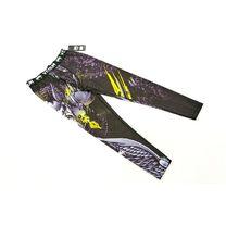 Штаны компрессионные для спорта Venum Viking (CO-8229, черный-белый-желтый)