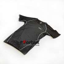 Рашгард Artix Black с коротким рукавом (RABlackSS, черный)