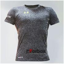 Компрессионная мужская футболка с коротким рукавом Under Armour (CO-07-3, темно-серая)