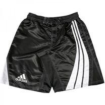 Шорти боксерські Adidas Dynamic Stripes (ADISMMA02, чорні з білим)