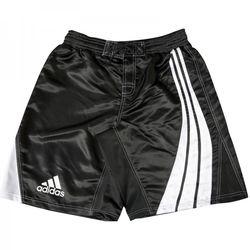 Шорты боксерские Adidas Dynamic Stripes (ADISMMA02, черные с белым)