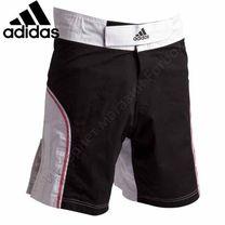 Шорты Adidas для смешанных единоборств ММА (ADICSS53, черно-белые)