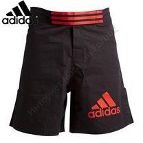 Шорты Adidas для смешанных единоборств ММА (ADICSS43, черно-красные)