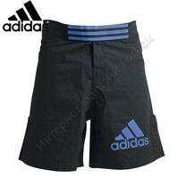 Шорты Adidas для смешанных единоборств ММА (ADICSS43, черно-синие)