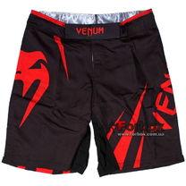 Шорти Venum Challenger для змішанних єдиноборств ММА (CO-5247, чорно-червоні)