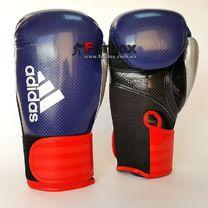 Боксерские перчатки Adidas HYBRID 65 (ADIH65-PRBK, фиолетово-черный)