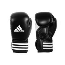 Перчатки боксерские Adidas KickPower 100 (ADIKP100, черно-белые)