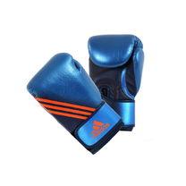 Перчатки боксерские Speed 300 кожаные Adidas (ADISBG300, синие)