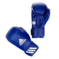 Боксерские перчатки Adidas с аккредитацией WAKO для кикбоксинга (ADIWAKOG2, синие)