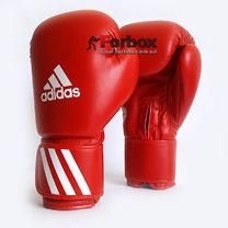 Боксерские перчатки Adidas с аккредитацией WAKO для кикбоксинга (ADIWAKOG2, красные)