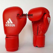 Боксерські рукавиці Adidas з ліцензією AIBA (AIBAG1, червоні)