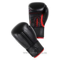 Боксерские перчатки Adidas Energy 300 кожа (ADIEBG300, черные)