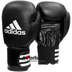 Боксерские перчатки Adidas Performer 2 кожа (ADIBC031, черные)