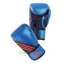 Перчатки боксерские Adidas Speed 200 на основе PU (ADISBG200, синие)