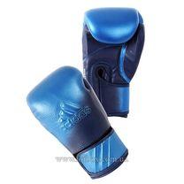 Перчатки для бокса Adidas Speed 300D кожаные (ADISBG300D, синие)
