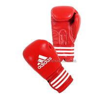 Перчатки для бокса Adidas Ultima2 кожаные (ADIBC02, красные)