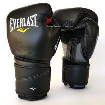 Боксерські рукавиці Everlast Protex2 Leather (3210, чорні)