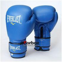 Перчатки боксерские Everlast Ring Star кожа (BO-4748-B, синие)