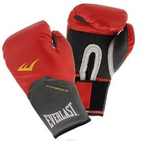 Боксерские перчатки Everlast Pro Style Elite (2112, красные)