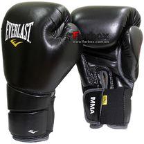 Перчатки Everlast Protex2 Muay Thai (7352, черные)