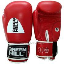 Боксерские перчатки Tiger Green Hill AIBA (BGT-2010a, красные)
