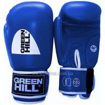 Боксерские перчатки Green Hill Tiger с лицензией AIBA (BGT-2010a, синие)
