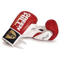 Перчатки для профессионалов на шнурках Green Hill Proffi (BGP-2014-RDWH, красно-белые)