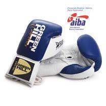 Перчатки боксерские Green Hill Pegasus одобрены профессиональной лигой AIBA (BGP-2239, синие)