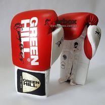 Перчатки боксерские Green Hill Pegasus одобрены профессиональной лигой AIBA (BGP-2239, красные)