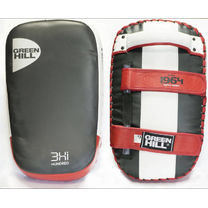 Макивара Green Hill Arm Pad Canpak 38см*19см кожа (AP-6093, бело-красная)