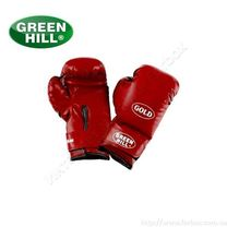 Тренировочные перчатки Green Hill Gold (BGG-2030, красные)