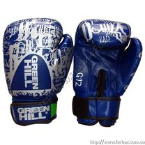 Перчатки боксерские Green Hill PVC (BG-G12, синие)