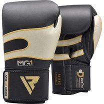 Боксерські рукавиці RDX Leather Black White