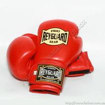 Перчатки с печатью ФБУ кожа Reyguard красные