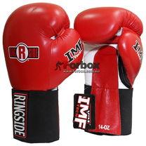 Боксерские перчатки Ringside IMF Hook and Loop Sparring (MFTGE, красные)