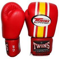 Боксерські рукавиці Twins (FBGV-3, шкіра червоні)