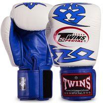 Перчатки для бокса Twins (FBGVL3-28-BU, Сине-белый)