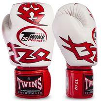 Перчатки для бокса Twins (FBGVL3-28-RD, Красно-белый)