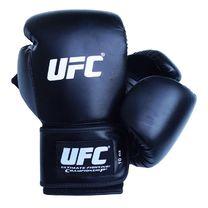 Рукавиці боксерські шкірзам UFC (BGALUFC, чорні)
