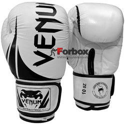 Перчатки боксерские Venum Challenger натуральная кожа (BO-5245-W, белые)