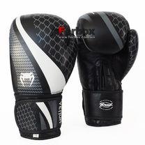 Перчатки боксерские Venum New Contender 2.0 кожаные (VL-2034-BK, черный)