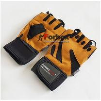Рукавички для тренажерного залу Power Play Mens (pp1064, коричневий)