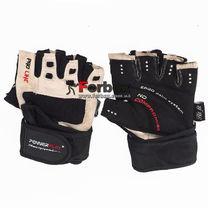 УЦЕНКА Перчатки для тренажерного зала Power Play Mens (pp1096, черно-белый)