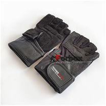 Рукавички для тренажерного залу Power Play Mens зі шкіри (pp2042, чорний)