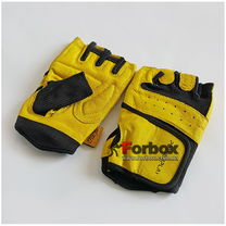 Перчатки для тренажерного зала Power Play Mens (pp2229, желтый)