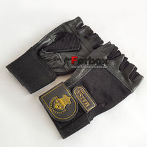 Перчатки атлетические с фиксатором запястья Matsa (MA-0039, черный)